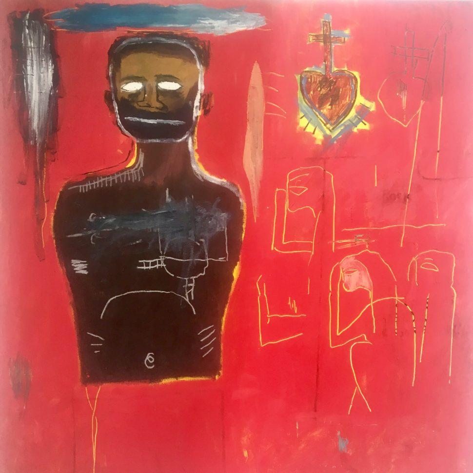 Jean-Michel Basquiat Cadmium 1984