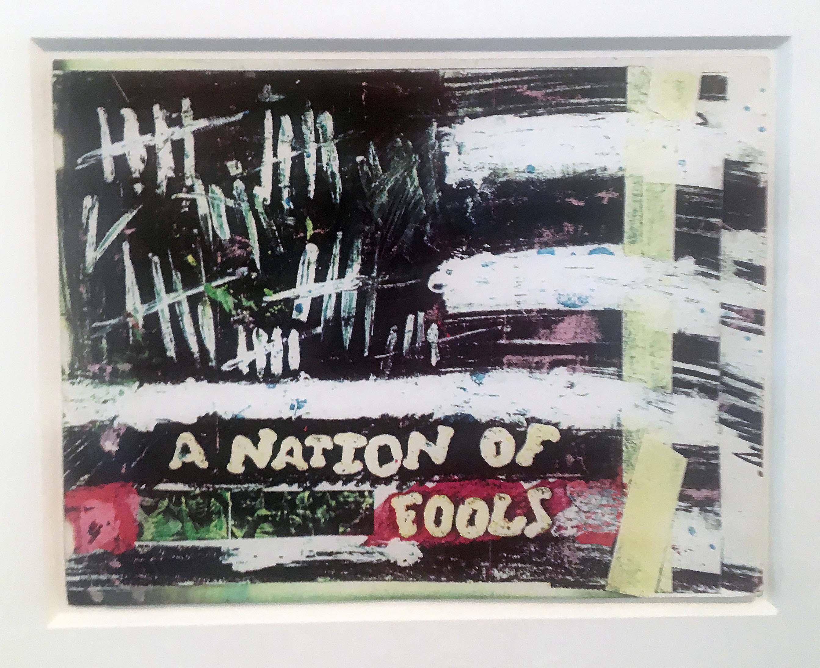 Untitled (A Nation of Fools) by Jean-Michel Basquiat
